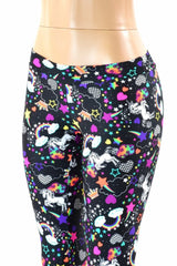 Unicorns and Rainbows Midrise Leggings