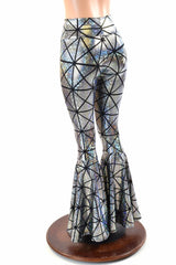 Cracked Tiles Bell Bottoms - Coquetry Clothing
