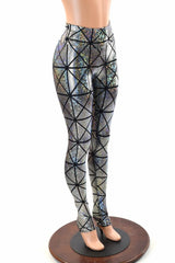 Cracked Tiles High Waist Leggings