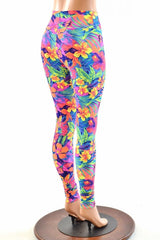 Tahitian Floral High Waist Leggings