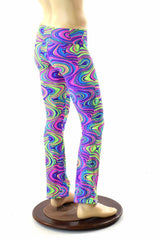 Mens Glow Worm Bootcut Pants
