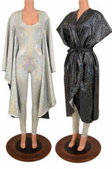 Batwing Catsuit with Reveal - Coquetry Clothing