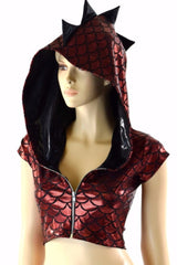 NEW! Build Your Own Zip-Up Dragon Crop - Coquetry Clothing