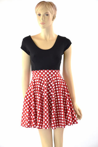 Minnie Skater Dress - Coquetry Clothing