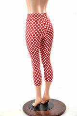 Minnie High Waist Capri Leggings - Coquetry Clothing