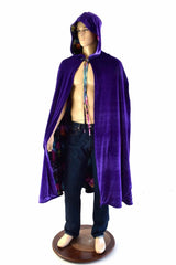 Reversible Hooded Cape - Coquetry Clothing