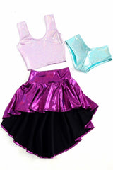 Build Your Own Hi-Lo Mini Skirt Set - Coquetry Clothing