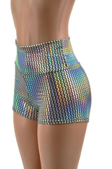 Prism Holographic Spandex Fabric - Coquetry Clothing