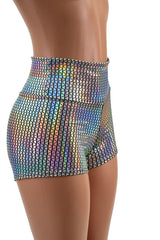 Prism High Waist Shorts - Coquetry Clothing