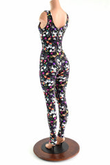 Unicorns and Rainbows Sleeveless Catsuit - Coquetry Clothing