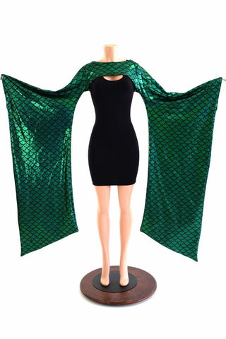 Green Dragon Kimono Bolero - Coquetry Clothing