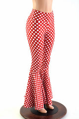 Minnie Polka Dotted Print Bell Bottoms - Coquetry Clothing