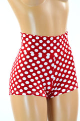Polka Dot High Waist Shorts