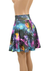 "19"" Galaxy Skater Skirt - Coquetry Clothing"
