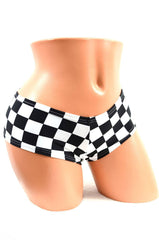 Checkered Booty Shorts