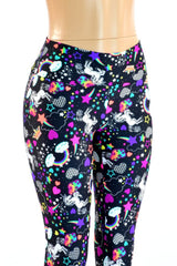 Unicorn and Rainbow High Waist Leggings - Coquetry Clothing