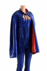 Cape & Flared Catsuit Set