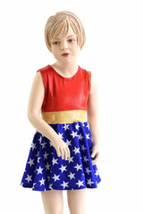 Girls Super Hero Skater Dress