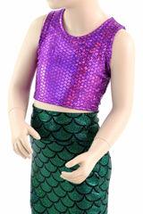 Girls Mermaid Skirt & Top Set - Coquetry Clothing