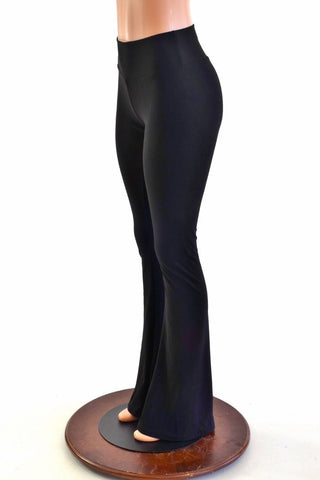 Black Zen Boot Cut Leggings - Coquetry Clothing