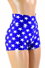 Super Hero High Waist Shorts