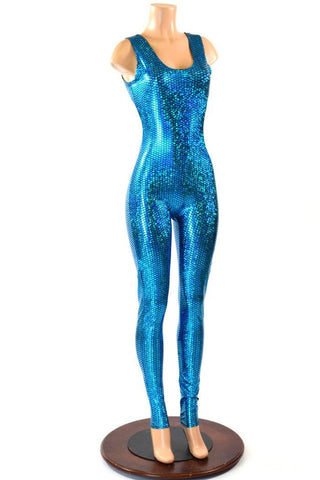 Aquamarine Mermaid Catsuit - Coquetry Clothing