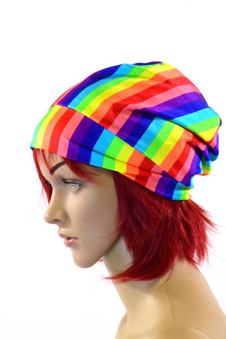 Rainbow Beanie - Coquetry Clothing