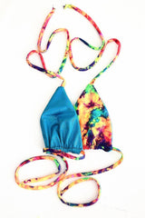 Reversible Triangle Slide Bikini Top - Coquetry Clothing