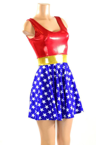 Super Hero Skater Dress - Coquetry Clothing