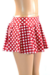 Polka Dot Minnie Rave Skirt - Coquetry Clothing