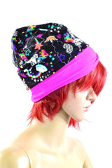 Unicorns & Rainbows Beanie Hat - Coquetry Clothing