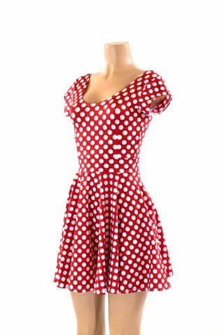 "Cap Sleeve ""Minnie"" Skater Dress"