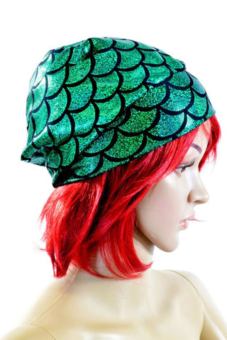 Mermaid Scale Beanie or Tam
