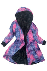 Build Your Own Reversible Double Minky A Line Coat - Coquetry Clothing