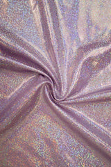 Lilac Holographic Catsuit - Coquetry Clothing