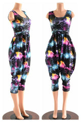 Tank Top Drop Crotch Harem Jumpsuit - Coquetry Clothing