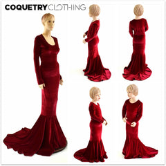 Girls La Muerta Gown - Coquetry Clothing