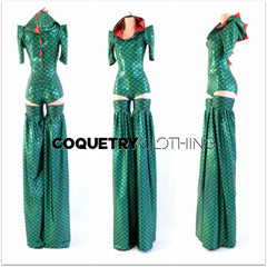 Crocodile Stilting Costume - Coquetry Clothing