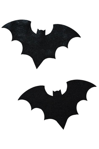 Black Mystique Bat Pasties - Coquetry Clothing