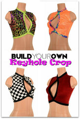 Build Your Own Keyhole Crop Top - Coquetry Clothing