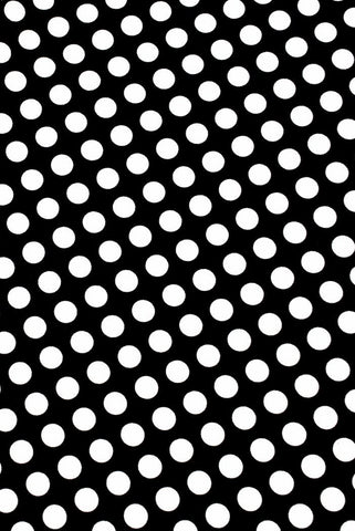 Black and White Polka Dot Fabric - Coquetry Clothing