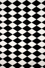 UV Black & White Diamond Fabric - Coquetry Clothing