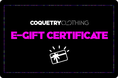 Gift Card - Coquetry Clothing