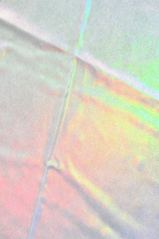 Flashbulb Holographic Fabric - Coquetry Clothing