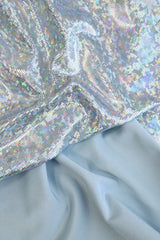 Frostbite Shattered Glass Fabric - Coquetry Clothing