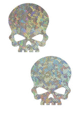 Frostbite Skulls Pasties - Coquetry Clothing