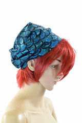 Turquoise Mermaid Beanie - Coquetry Clothing