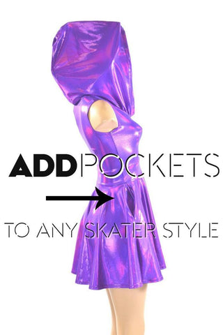Add POCKETS to any Skater Style - Coquetry Clothing