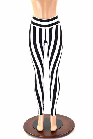 330899e7792ed ... UV Black & White Stripe Spandex Fabric - Coquetry Clothing