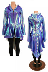 Moonstone Dragon Open Front Jacket - Coquetry Clothing